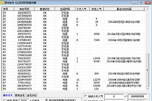 QQ空间权限查询器(空间资料网页协议)