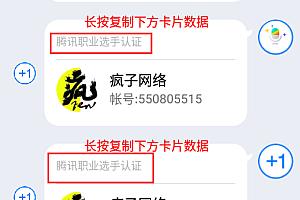 QQ一串代码让你成为职业选手